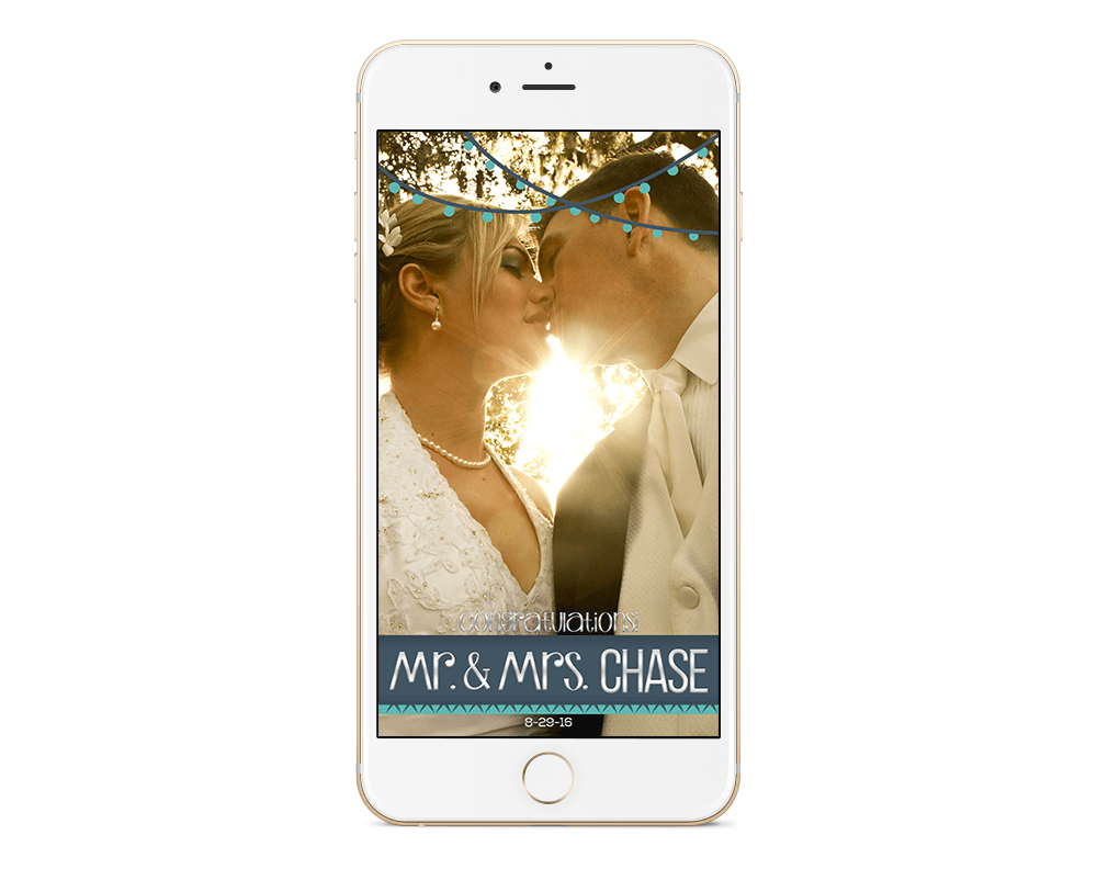snapchat wedding filter get your own geofilters aycock designs. Black Bedroom Furniture Sets. Home Design Ideas