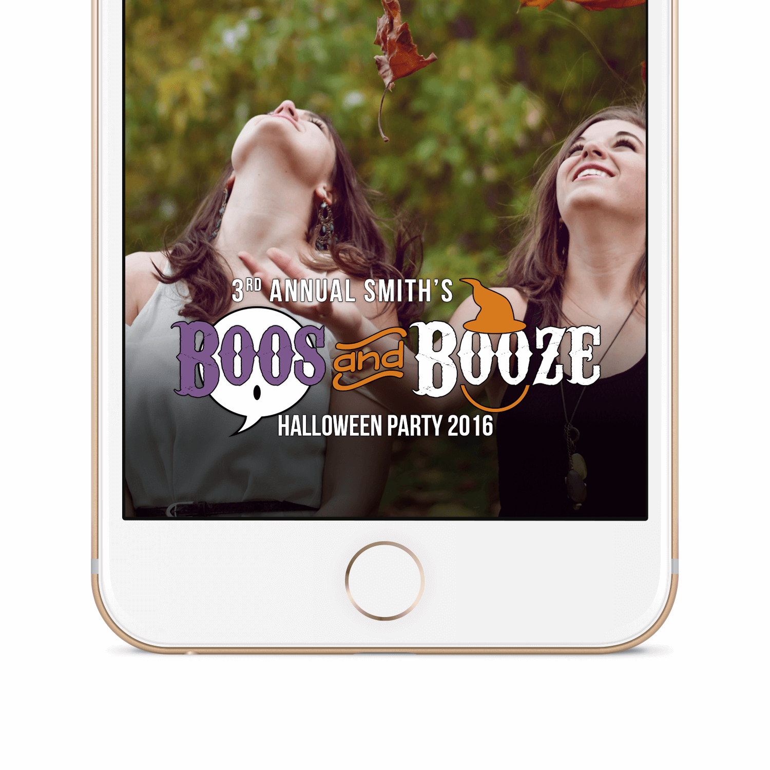 Snapchat Geofilter Secondary Image Halloween 2