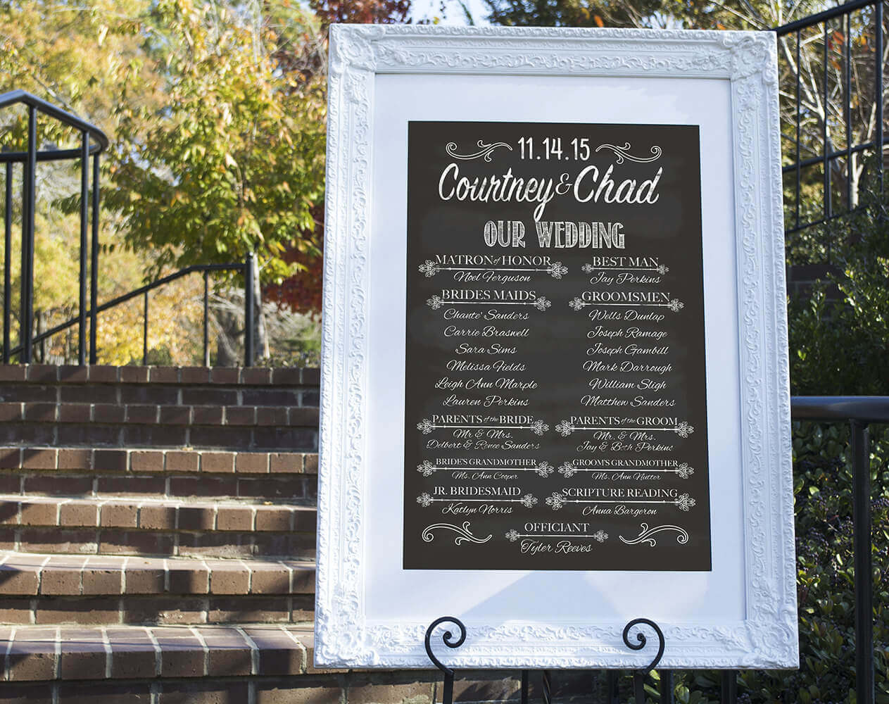 aycock designs printable wedding signs