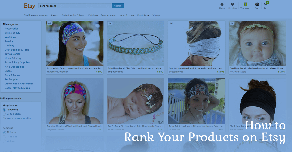 Etsy SEO – How to Rank Your Products on Etsy