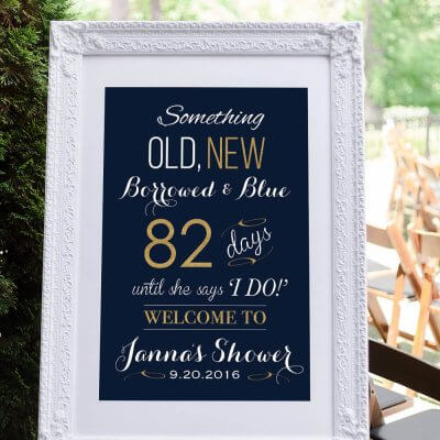 printable bridal shower sign aycock designs